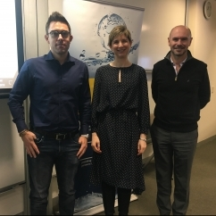 Prof Cameron Holley, Dr Erin O'Donnell and Prof Greg Leslie