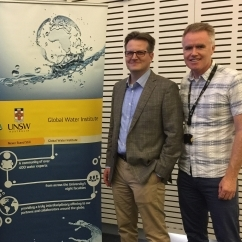 UNSW Global Water Institute Research - PFAS - Chris Higgins