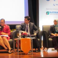 Plenary speaker at IWA Development Congress