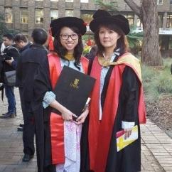 Graduation - Global Water Institute - Vita and Rose