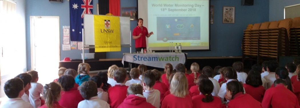 UNSW Global Water Institute Research - Water Monitoring Day