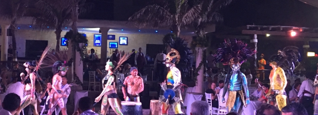 Celebrations taking place at IWRA Congress, Cancun, Mexico