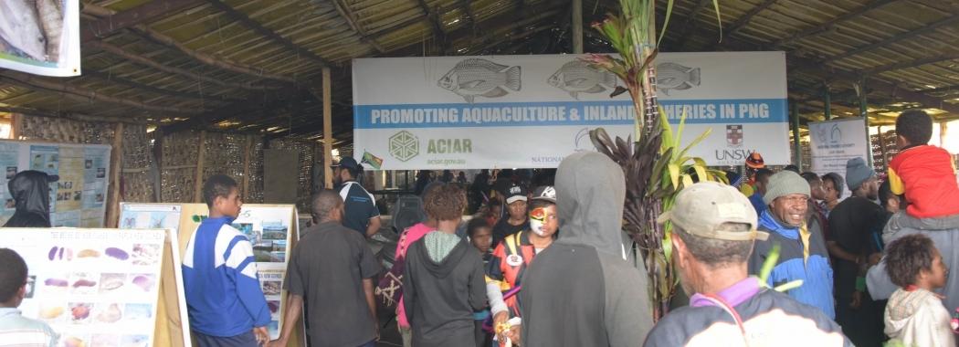 UNSW Aquaculture Goroka Show Stall