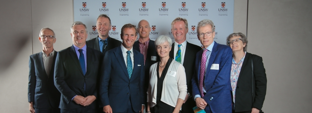 Minister Stokes with UNSW Executives and Guests
