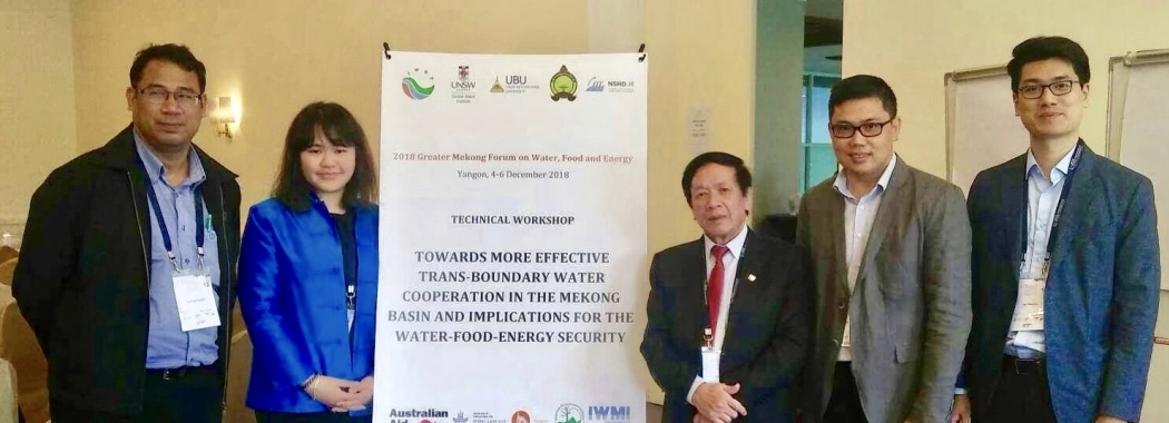 Greater Mekong Forum - Pichamon Yeophantong - UNSW Global Water Institute