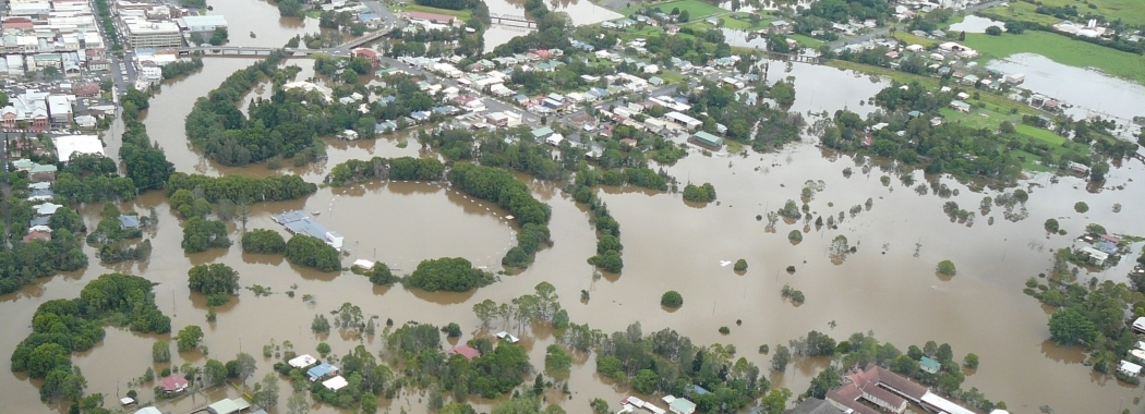Lismore flood  2013  Rous County Council.JPG