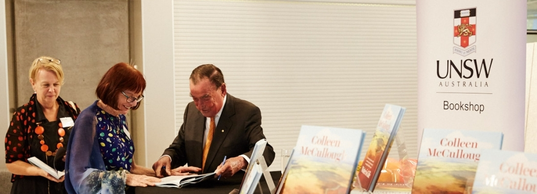 Michael Crouch signing Water is Life