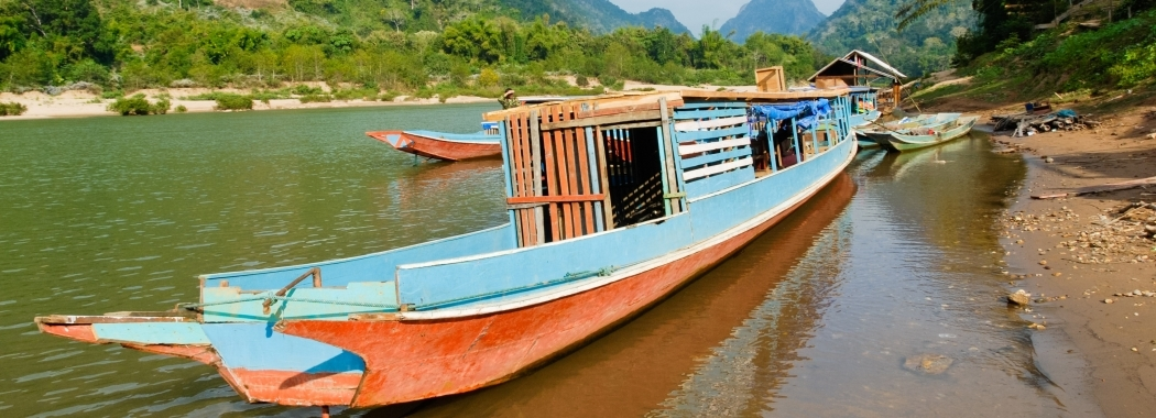Global Water Institute Research - Mekong Boat