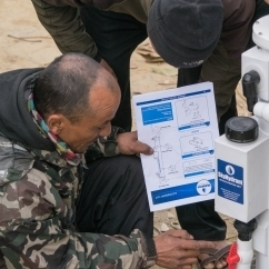 Clean water solutions for disaster zones