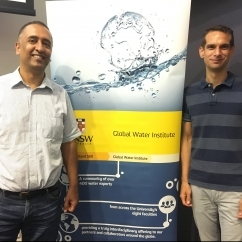 Prof Ashish Sharma and Dr Ruud van der Ent