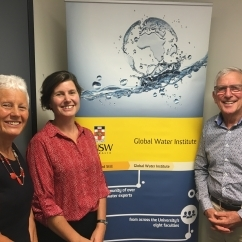 UNSW Global Water Institute - Gwenda Lansbury, Nina Lansbury-Hall and Russell Lansbury