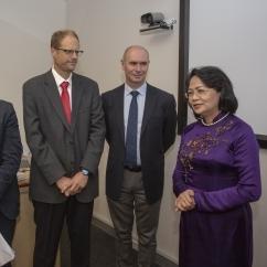 Vietnam VP Visit