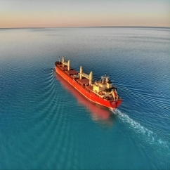 UNSW Global Water Institute Research - Pacific Shipping - Container ship