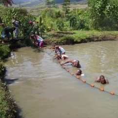 Changing lives through fish farming in Papua New Guinea